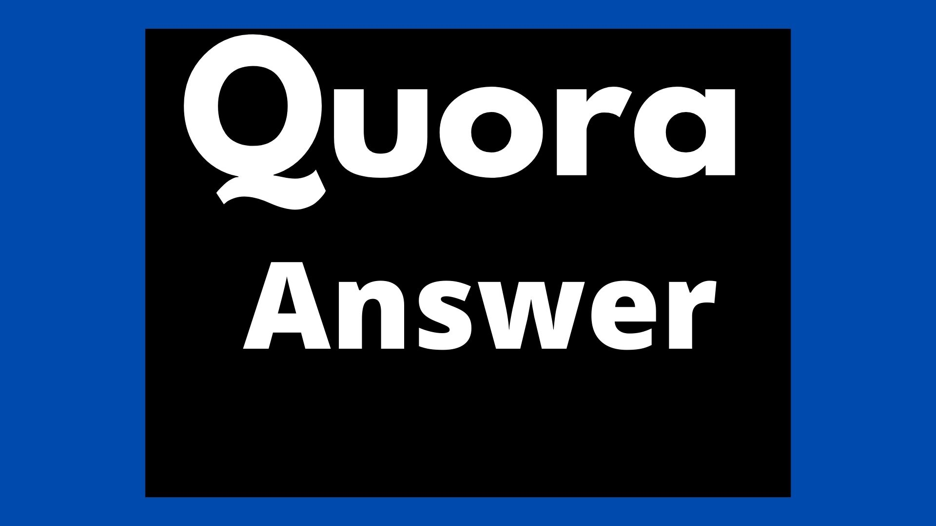 I will advance your site by HQ 10 Quora Answers