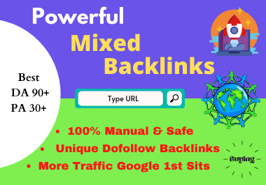 30+Powerful Mixed Profile Backlink best for your google ranking