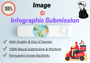 Top 30 Image or Infographic Sharing Submission High Authority DA & PA Backlinks