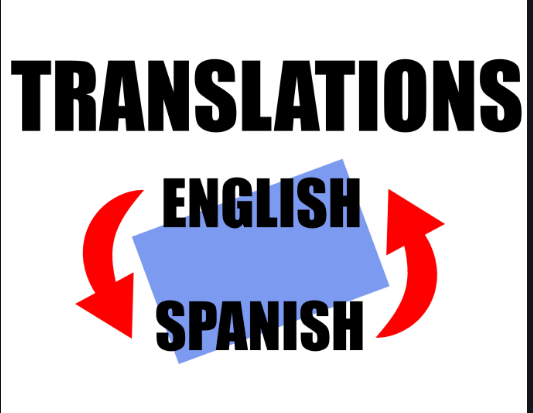 I will translate 250 words from english to spanish or from spanish to english