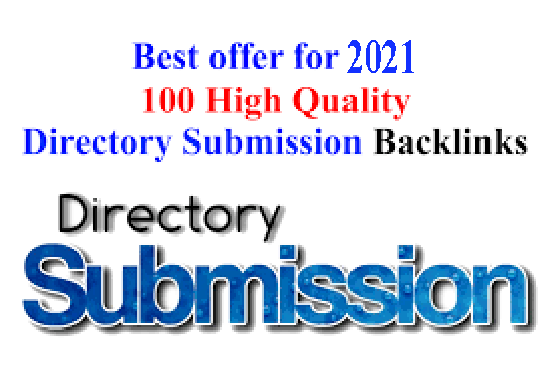 I will do high 100 High quality directory submission within Website Google Ranking