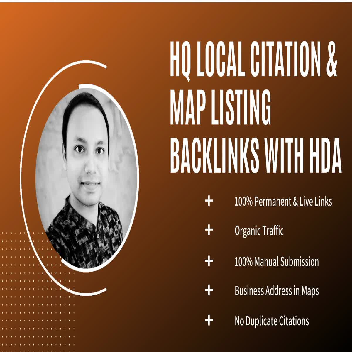 50 HQ Local Citation or Business Listing & Map Listing Backlinks with High DA