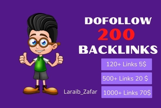 I will build 200 dofollow blog comment backlinks