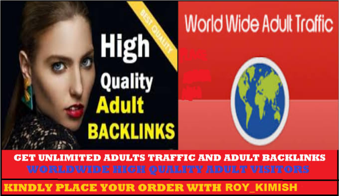 I will drive 100 USA web adults traffic,  promotion.