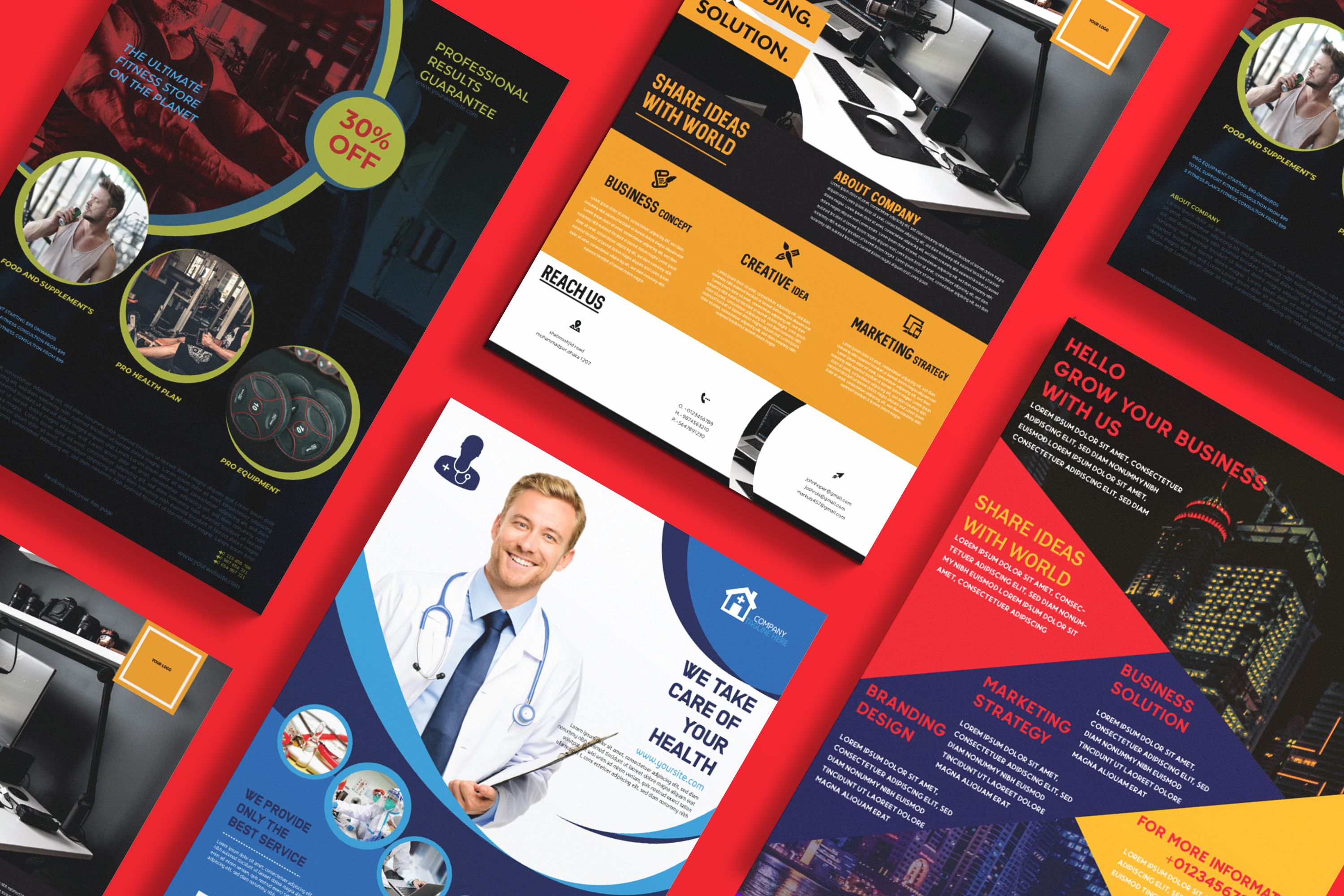 I will design the perfect flyer or brochure for your business