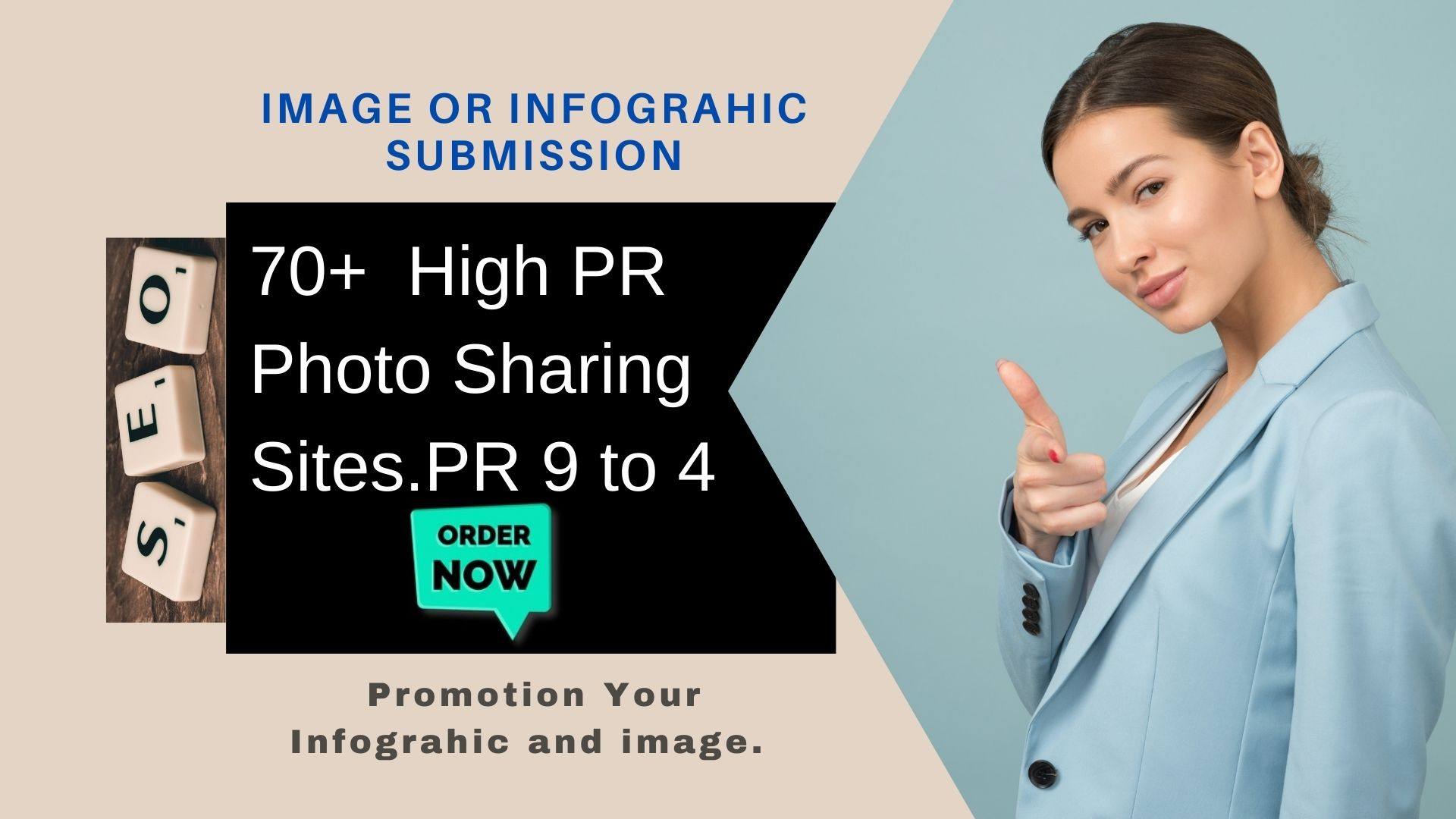 i will do 3 infographic or image submission in top image shareing sites