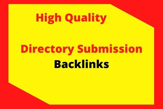 I will do manually 100 High Quality directory submission