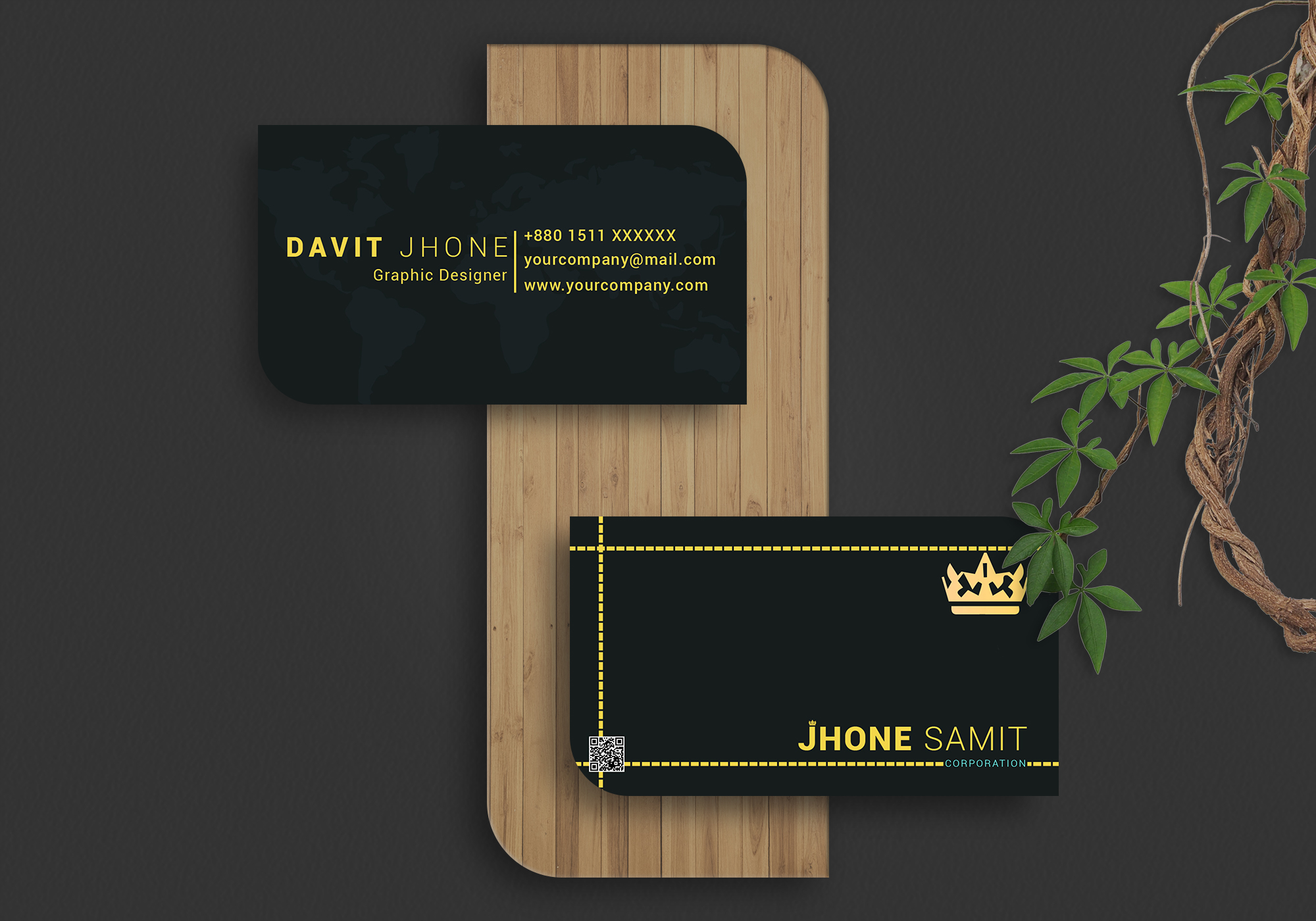 I will design luxury and unique business card