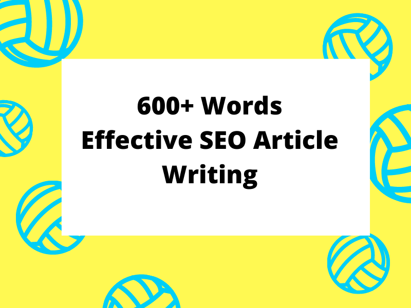 Exceptional SEO Content Writing - 600 Words