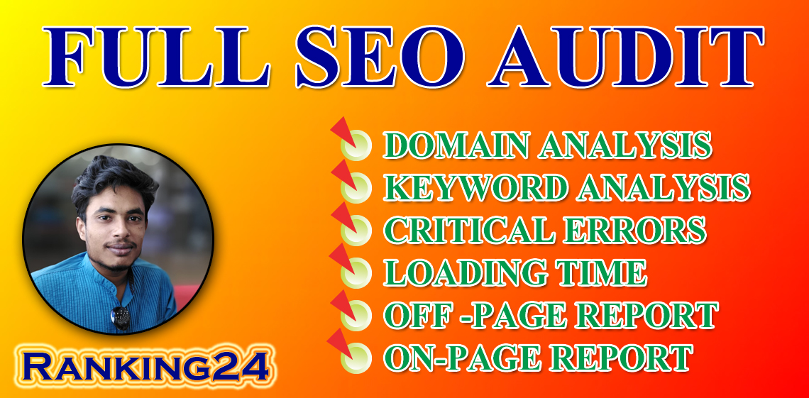 I will perform a professional technical SEO audit and competitor analysis for your site