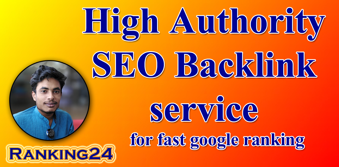 I will do best high authority backlinks for google top ranking