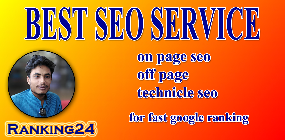 I will do rank your website on google by best SEO service and backlinks