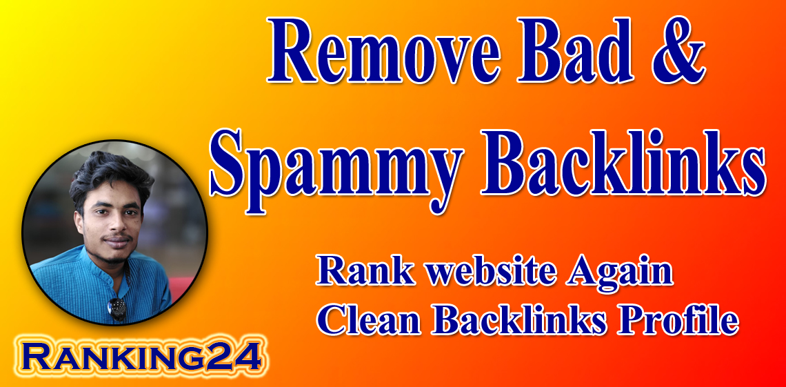 I will do bad backlinks SEO report and disavow toxic links