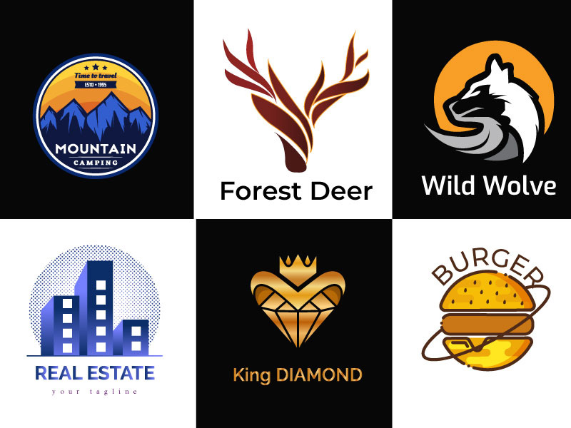 I will design unique professional logo for business