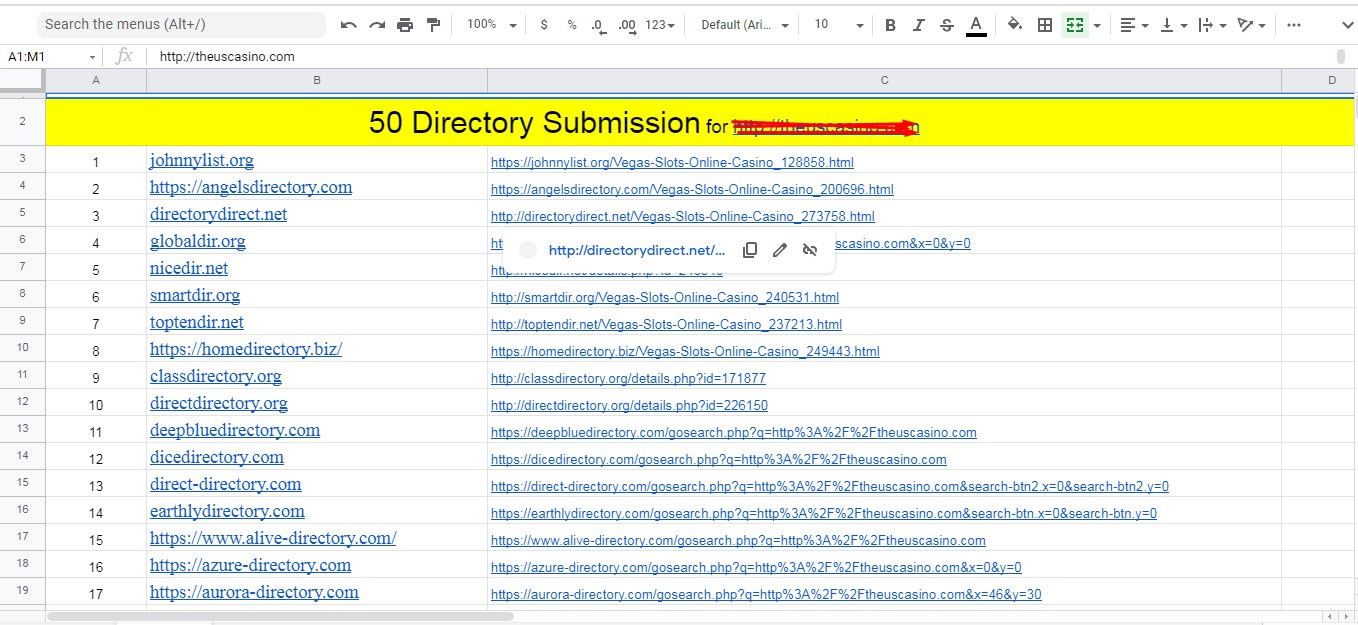 Instant Approve 50 Directory submissions live links Manually from PR web directories