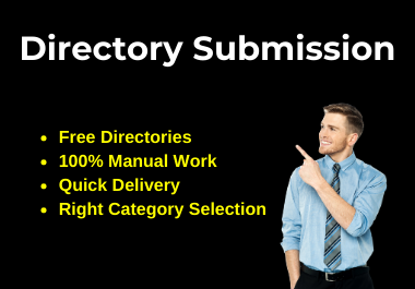 Manually 30 Live Directory Submissions on Instant Approve directories