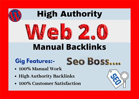 I will do make authority web 2 0 backlinks