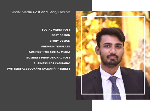 I will creative high quality social media post and story