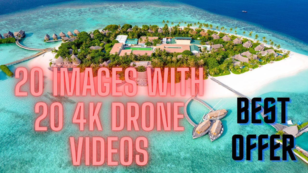 i have 4K drone videos pack copyright free