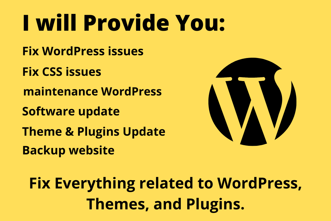 I will create a SEO friendly WordPress website Design for your business