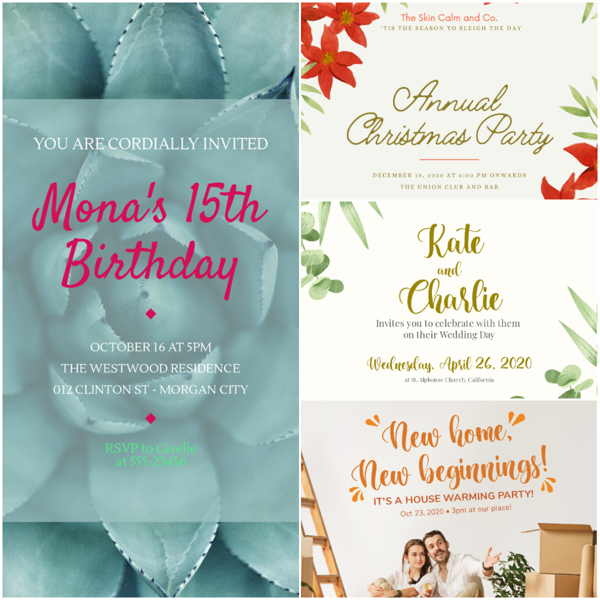 I will Design Your Themed Birthday Card or Any Invitation Cards