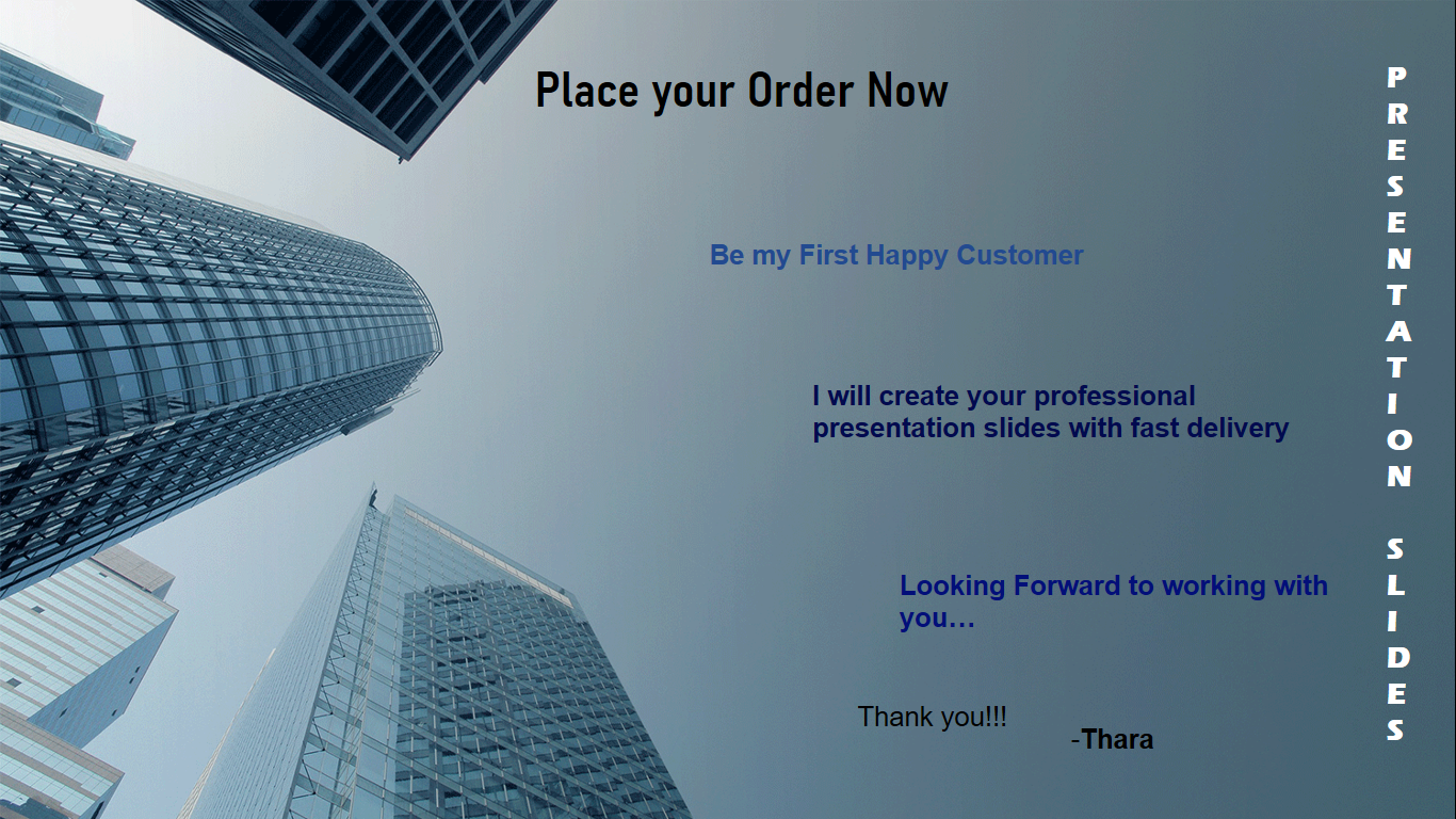 I will Create Your Professional Powerpoint Presentation Slides