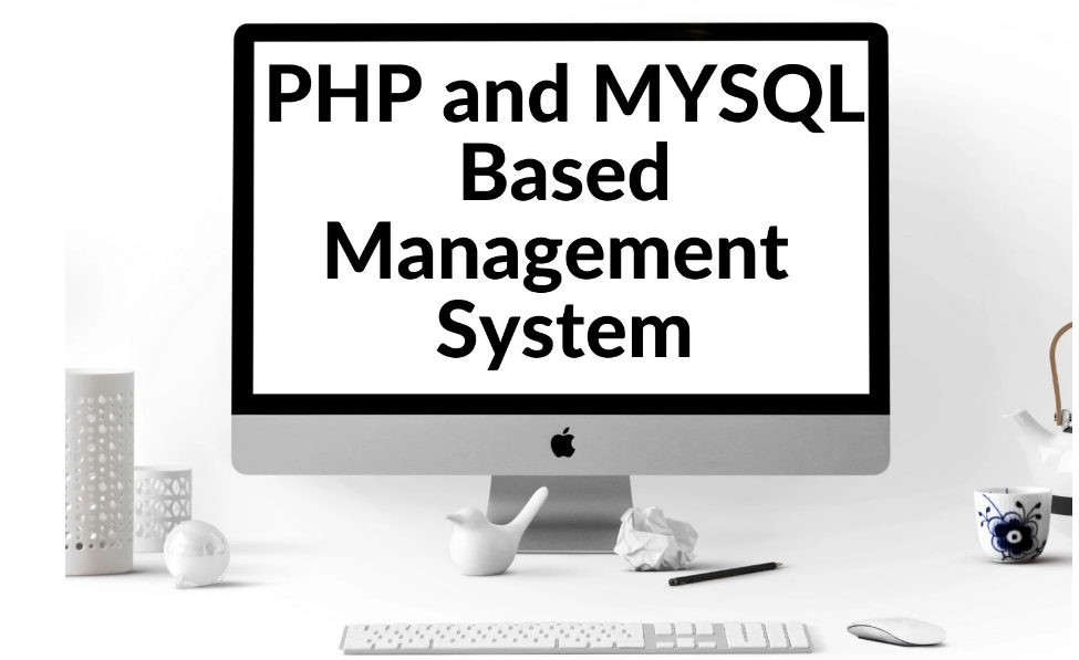 I will code a professional php and mysql based management system