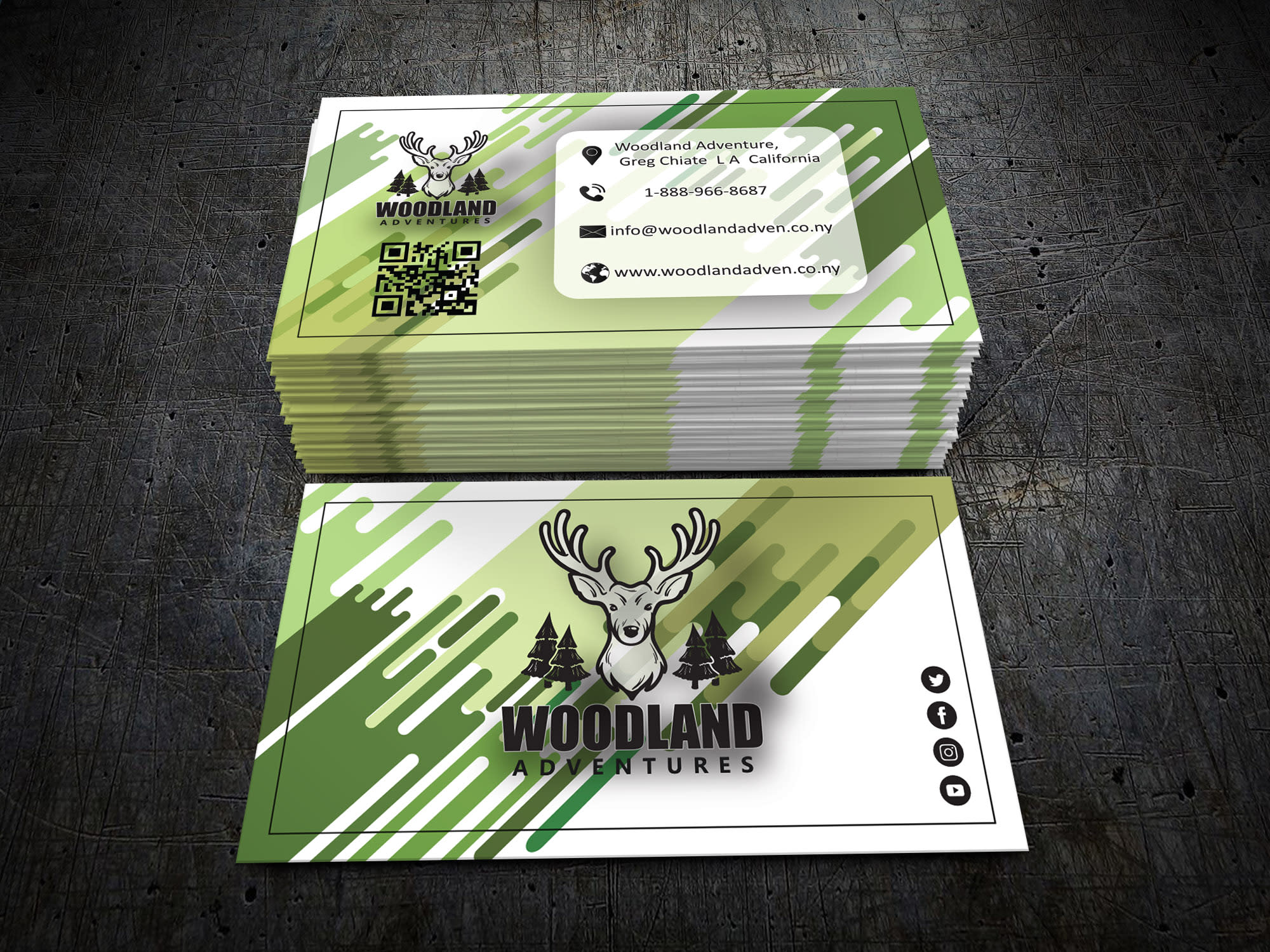 I will create any type of business card for your business