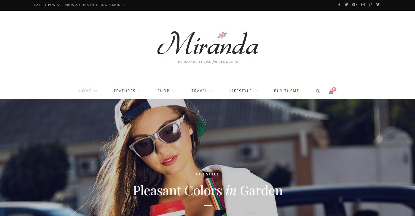 customized professional and responsive wordpress website