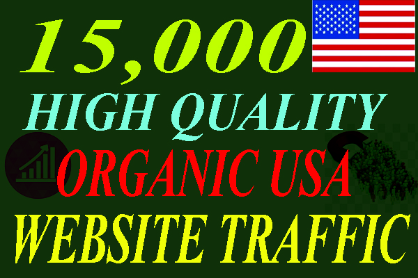 I will be able to Drive 15,000 USA Keyword Targeted Low Bounce Rate Traffic To Your Website.