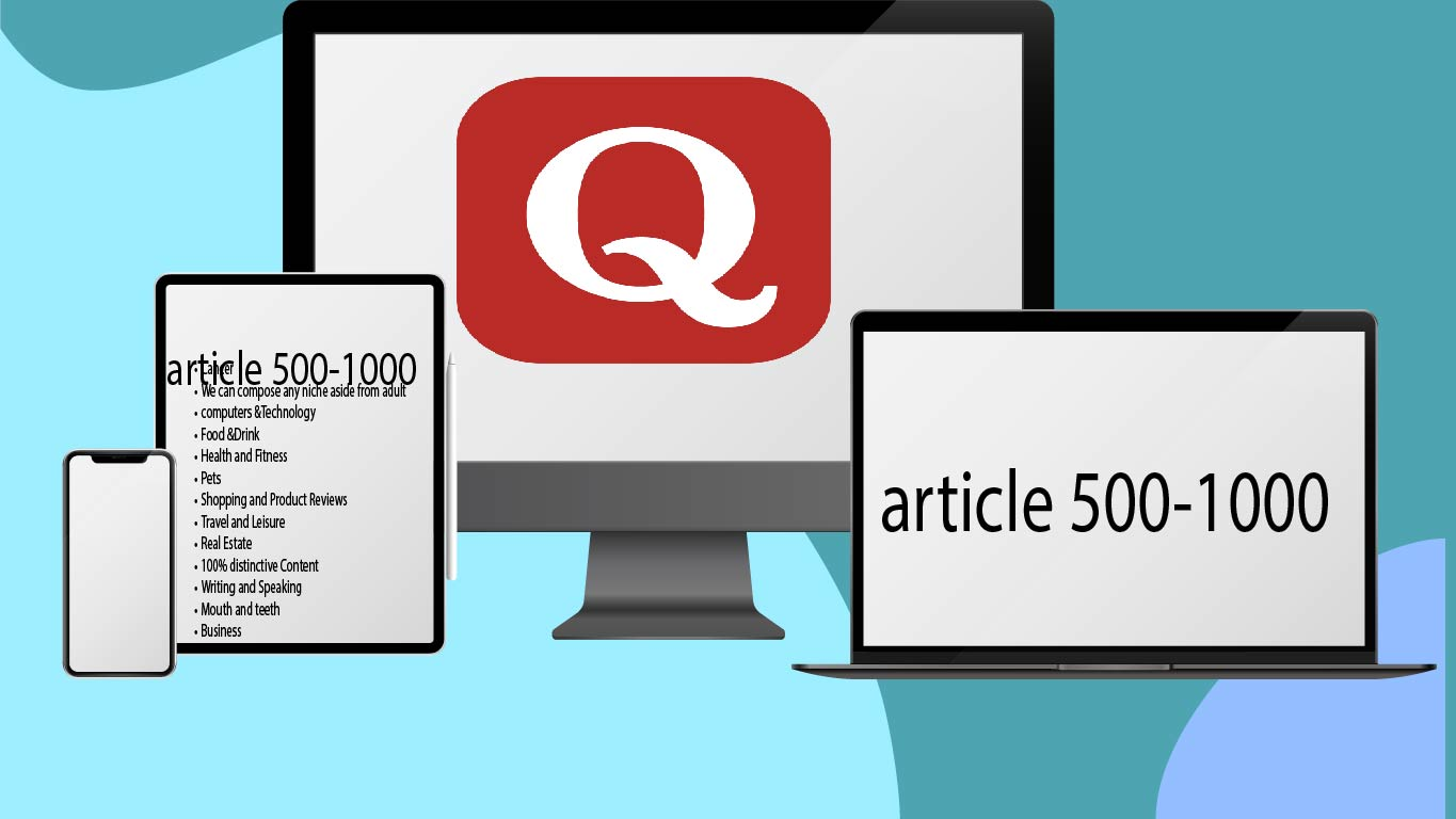 I will 10 unique article 500-1000 words content and high quality