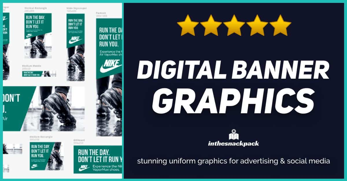 I will create brand consistent digital banner assets in 12 formats