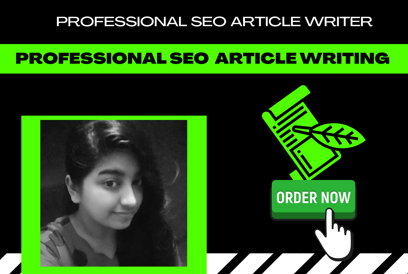 I will do professional SEO article writing for your blog