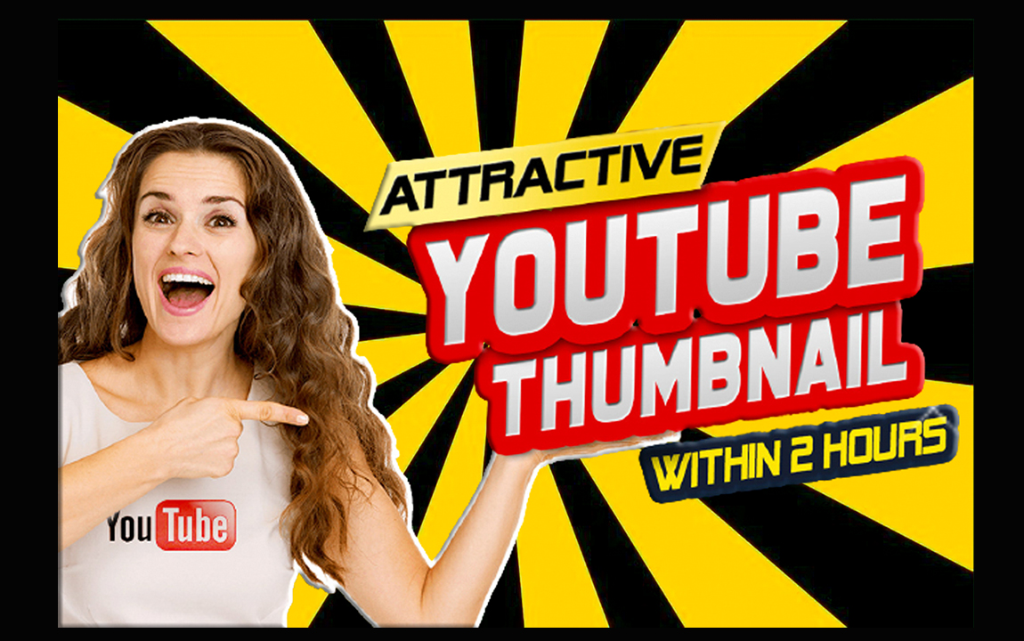 I will design 3 amazing youtube thumbnails quickly