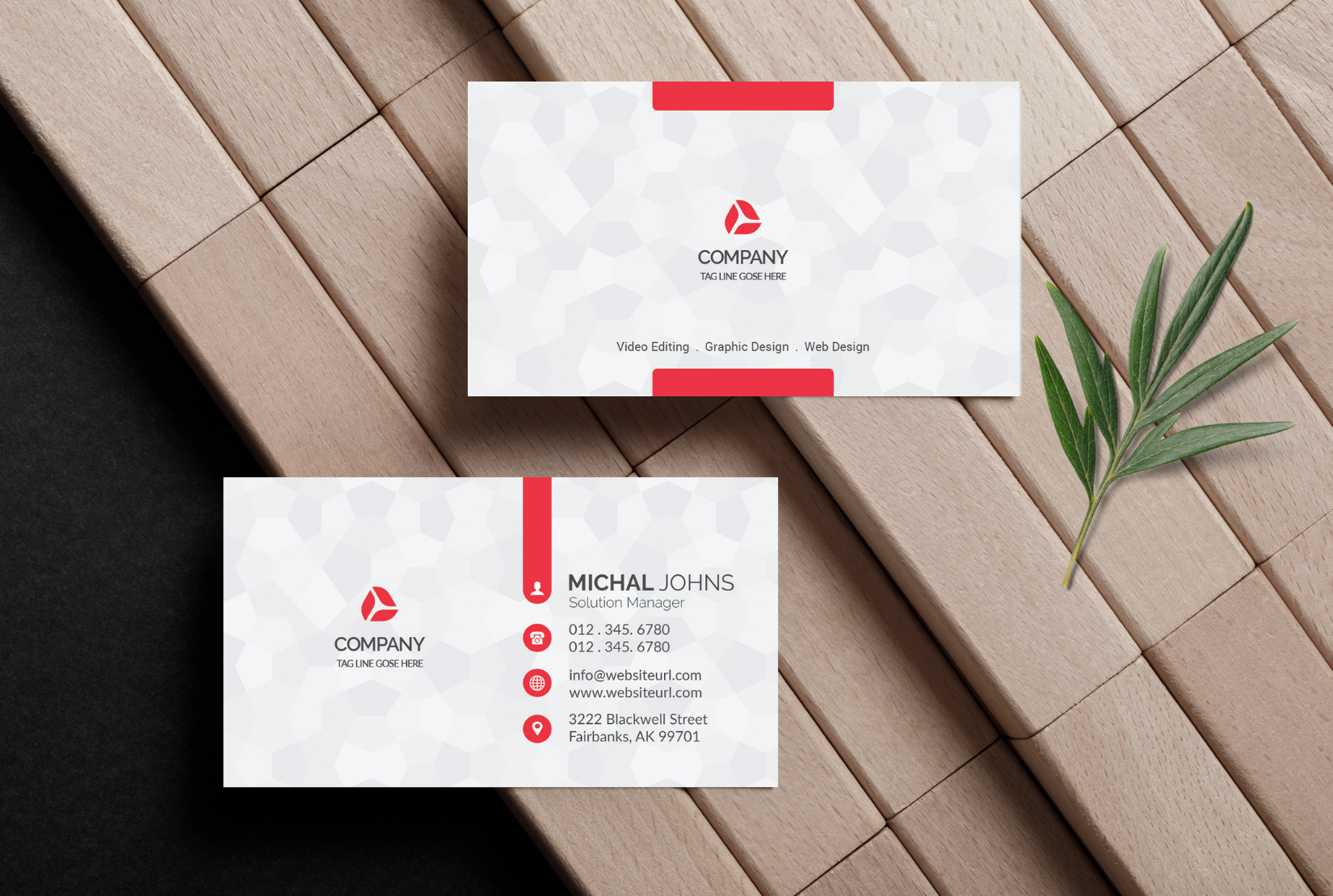 I will design a eye catching business card