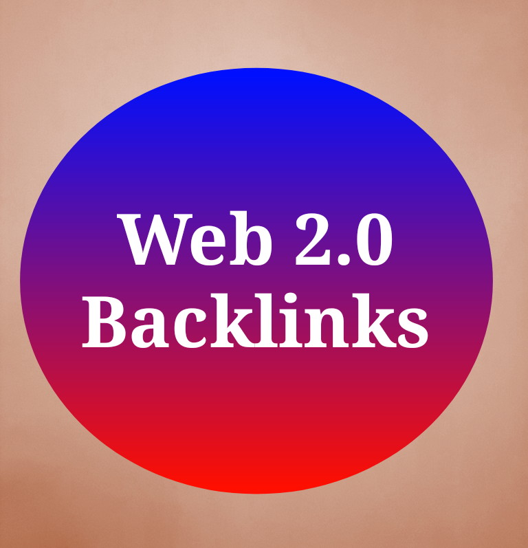 Create 20+ Web 2.0 backlinks to high authority sites.
