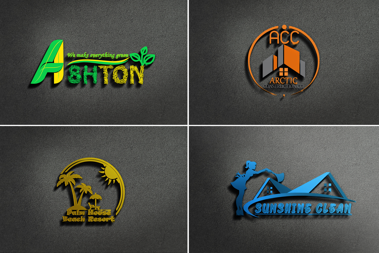 I will design creative 3d versatile logo designs