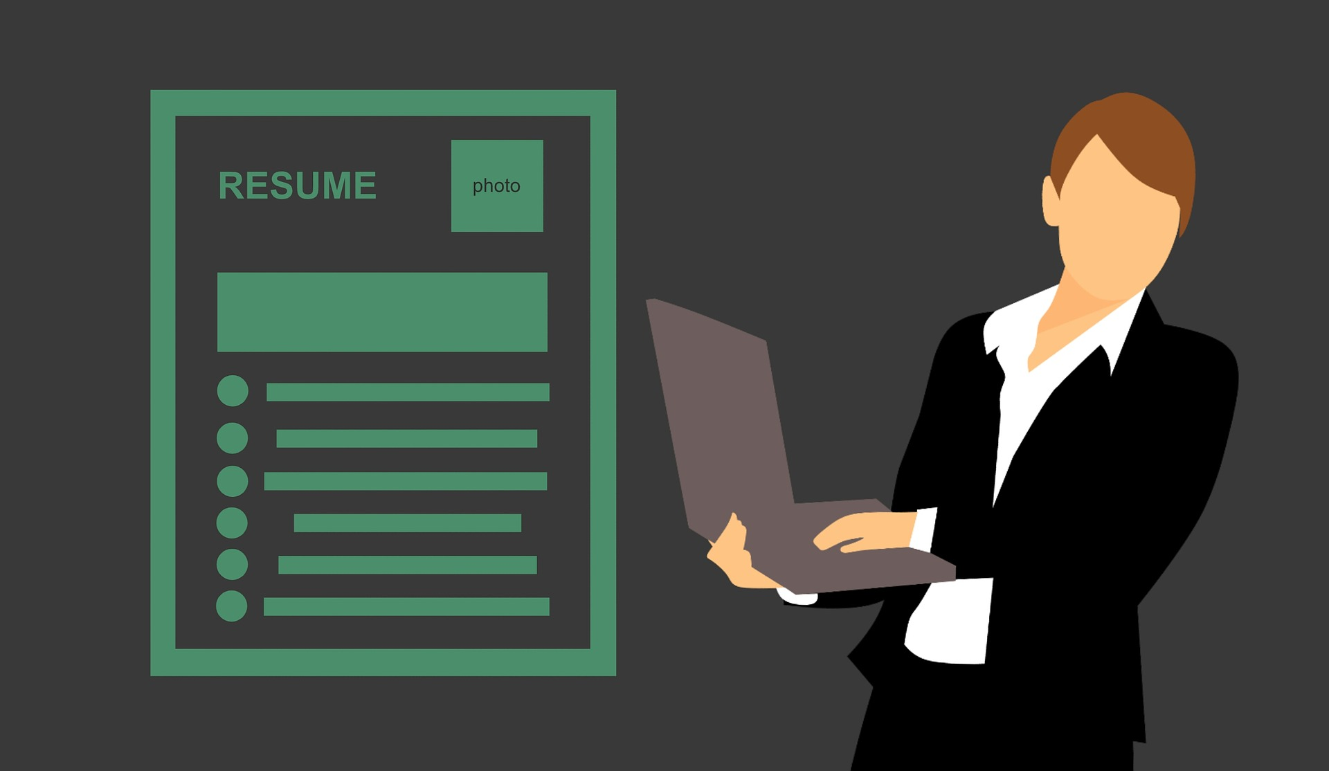 I will provide professional resume writing services for you