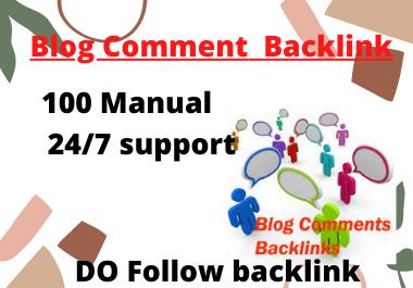 Create Manually 15 High Quality Blog Comments Backlinks On High DA.