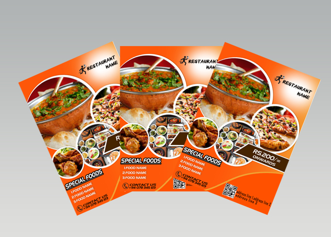 I will do your creative flyer design