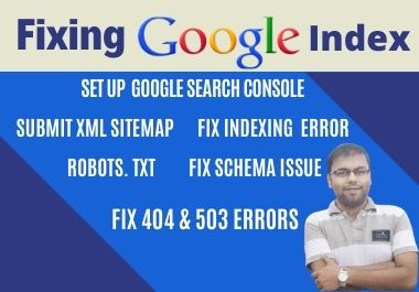 I Will Index Your Links in Google & Fix Search Console Errors