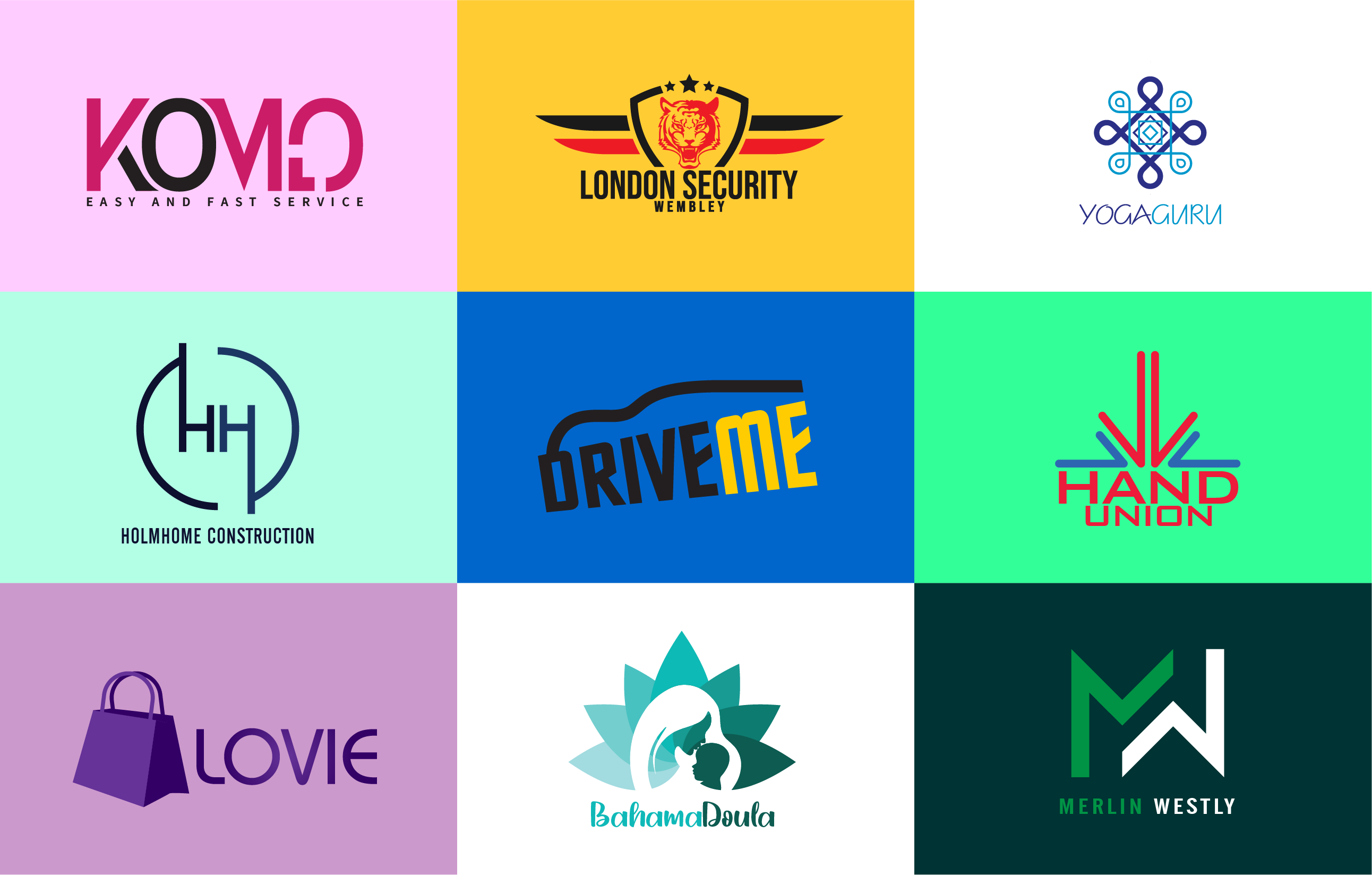 I will design a professional, modern logo for your business within 24 hours