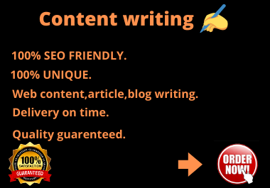 I will write 1000 words top quality SEO optimized articles,  contents and blogs for you.