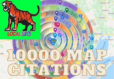 1000 google map citation manually in 24 hours