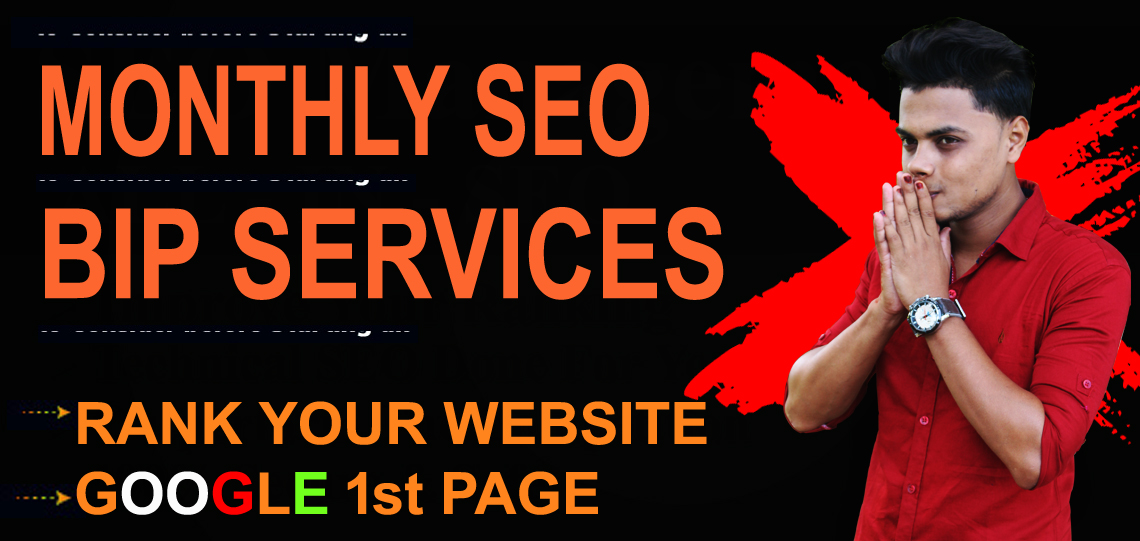 I will do white hat monthly SEO service manual high quality backlinks