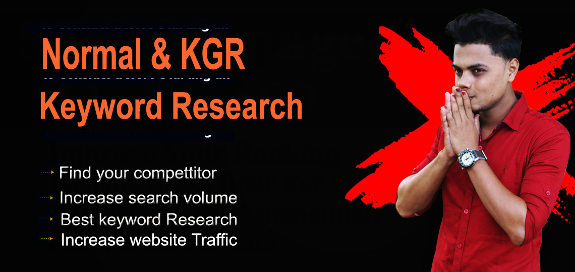 I will do advanced amazing keyword research for your SEO journey