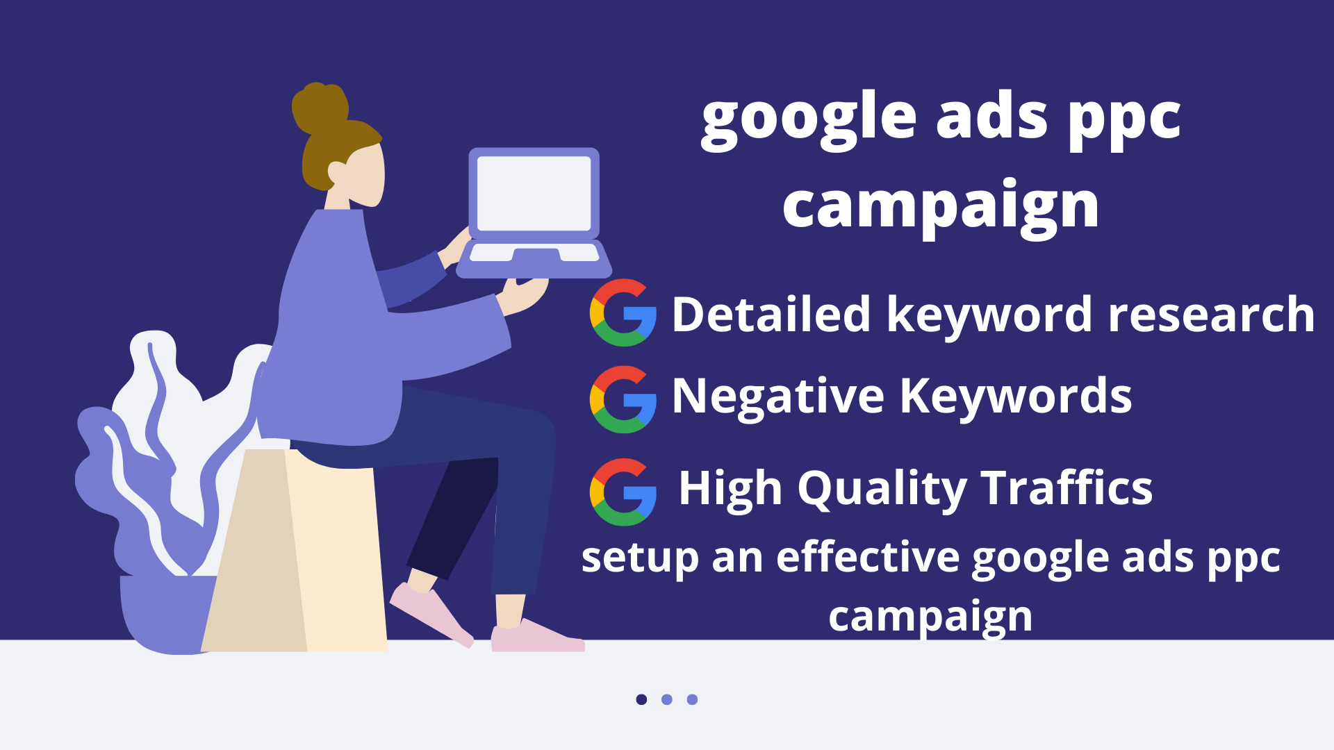 I will setup an effective google ads ppc campaign perfectly