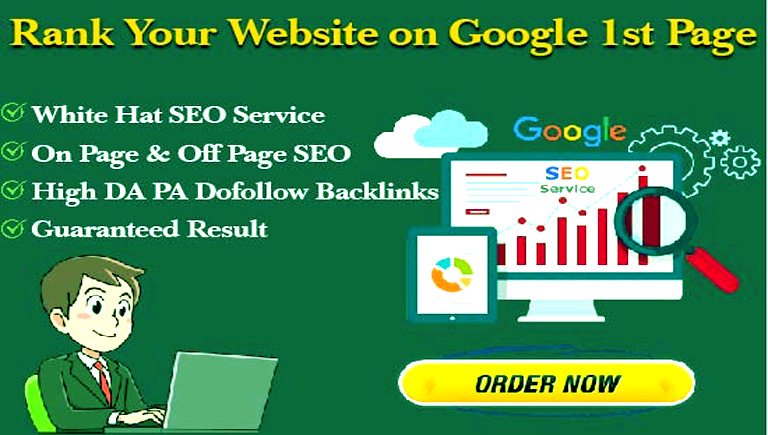 I will rank website on first page of google as seo agency