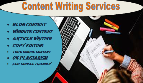 I will provide content writing service from 300-500 words
