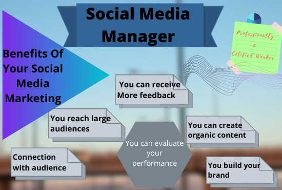 I will create,  design and optimize Social Media Account & Page professionally